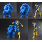 Marvel Universe - Cyclops & Beast Two Pack ARTFX+ PVC 1/10 Statues 18cm/14cm