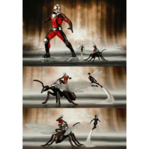 Marvel Universe - Marvel Comics Avengers Series Astonishing Antman & Wasp ARTFX+ 1/10 PVC Statue 19cm
