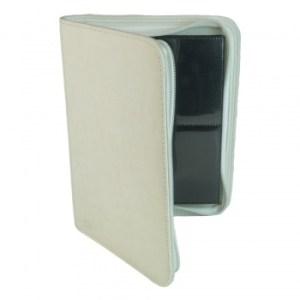4-Pocket Premium Zip-Album - White
