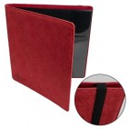 12-Pocket Premium Album - Red