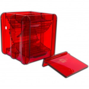 - Dice Container - Red