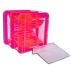 - Dice Container - Fluorescent Red