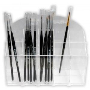 - Acrylic Display - Brushes