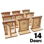 - Medieval Doors Set (14pcs)