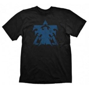 Starcraft II T-Shirt - Terran Logo Vintage Blue - Size S