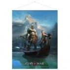 God of War Wallscroll - Father and Son
