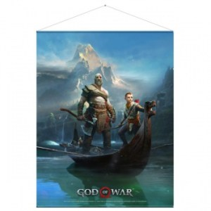 God of War Wallscroll - Father and Son