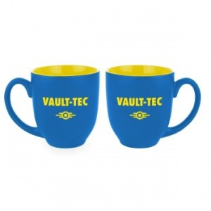 Fallout Oversized Mug Vault-Tec Blue / Yellow