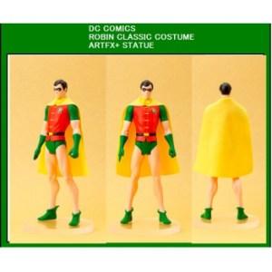 DC Universe Super Heroes ARTFX+ Series - Robin Classic Costume statue 20cm