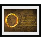 GBeye Collector Print - Lord Of The Rings One Ring 30x40cm