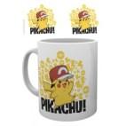 GBeye Mug - Pokemon Ash Hat Pikachu