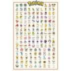 Juliste - Pokemon Kanto 151