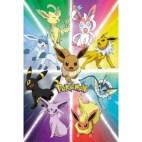Juliste - Pokemon Eevee Evolution