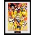 GBeye Collector Print - Dragon Ball Z 3 Gokus 30x40cm