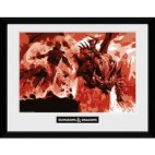 GBeye Collector Print - Dungeons & Dragons Red Dragon 30x40cm