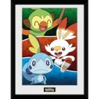 GBeye Collector Print - Pokemon Galar Starters