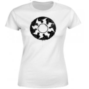 Magic The Gathering White Mana Splatter Womens T-Shirt - White - XXL
