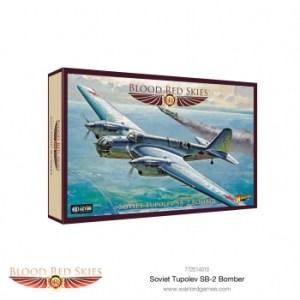 Blood Red Skies - Soviet Tupolev ANT-40 (SB-2) Soviet Bomber
