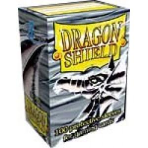 Dragon Shield Standard Sleeves - Silver (100 Sleeves)