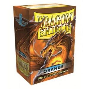 Dragon Shield Standard Sleeves - Orange (100 Sleeves)