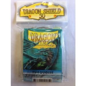 Dragon Shield Standard Sleeves - Turquoise (50 Sleeves)