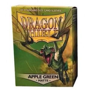 Dragon Shield Standard Sleeves - Matte Apple Green (100 Sleeves)