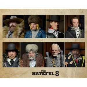 Quentin Tarantinos The Hateful Eight - 20cm Clothed Deluxe Action Figure Assortment (8) limited (3000 worldwide) one-run-production