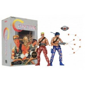 Contra - Bill and Lance 2-Pack (Video Game Appearance) Action Figures 18cm Scale