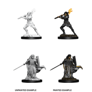 D&D Nolzurs Marvelous Miniatures - Female Human Paladin (6 Units)