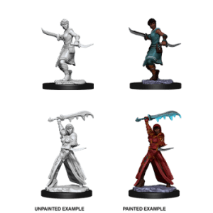 D&D Nolzurs Marvelous Miniatures - Female Human Rogue (6 Units)