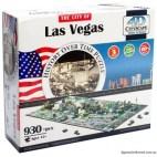 4D Cityscape - Las Vegas Puzzle
