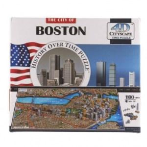 4D Cityscape - Boston