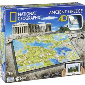 4D Cityscape - National Geographic: Ancient Greece