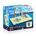 4D Cityscape - London Mini Puzzle