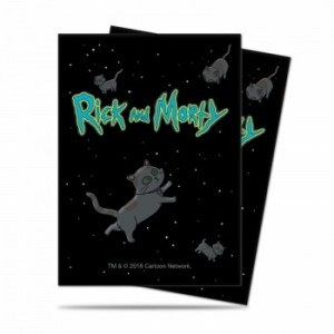 UP - Standard Deck Protector - Rick and Morty V2 (65 Sleeves)