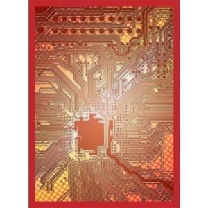 Legion - Standard Sleeves - Circuit - Red (50 Sleeves)