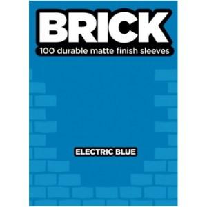 Legion - Brick Sleeves - Electric Blue (100 Sleeves)