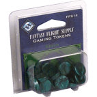 FFG Supply Gaming Tokens - Green
