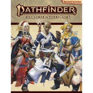 Pathfinder Character Sheet Pack