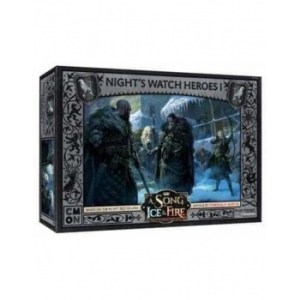 A Song Of Ice And Fire - Nights Watch Heroes Box 1