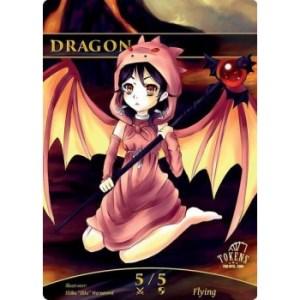 Tokens for MTG - Dragon Token (10 pcs)