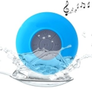 Waterproof Shower BTS-06 Mini Bluetooth Speaker (green)