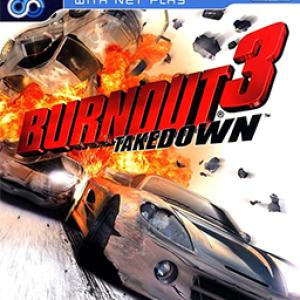 PS2: Burnout 3: Takedown (käytetty)