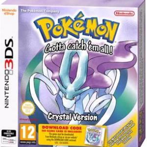 3DS: Pokemon Crystal Version (Download Code)