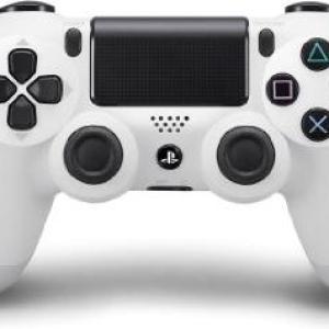 PS4: PS4 DualShock Glacier White