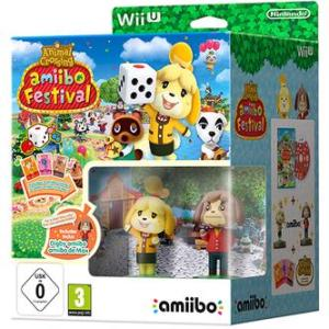 Wii U: Animal Crossing: Amiibo Festival + 2 Amiibos & 3 Amiibo Cards