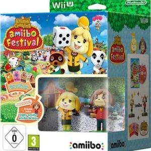 Wii U: Animal Crossing: Amiibo Festival + 1 Amiibo & 3 Amiibo Cards