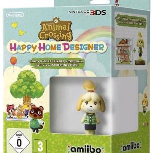 3DS: Animal Crossing: Happy Home Designer + Amiibo Isabelle