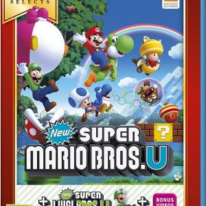 Wii U: New Super Mario Bros U Inc. New Super Luigi U (Selects)