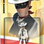 Disney Infinity CRYSTAL Character - Lone Ranger (DELETED LINE)